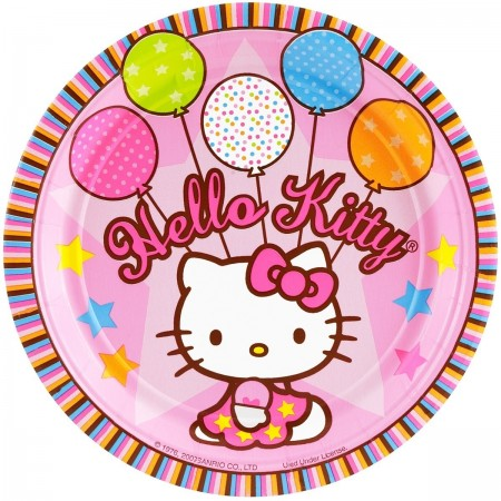 Hello Kitty Lunch Plates (8)