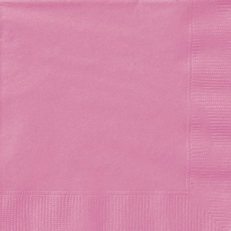 Hot Pink Beverage Napkins (20)