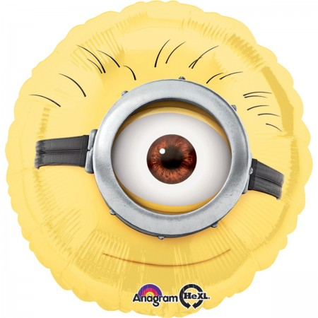 Despicable Me Minion Foil Balloon (1)