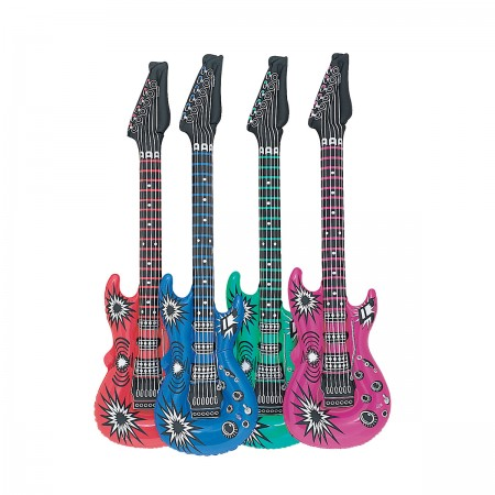 Inflatable Guitar Assorted (1)