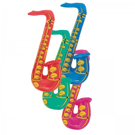 Inflatable Saxophone Assorted (1)