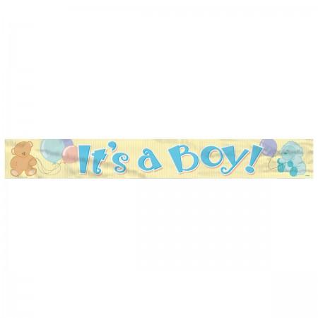 It's a Boy Foil Banner (1)