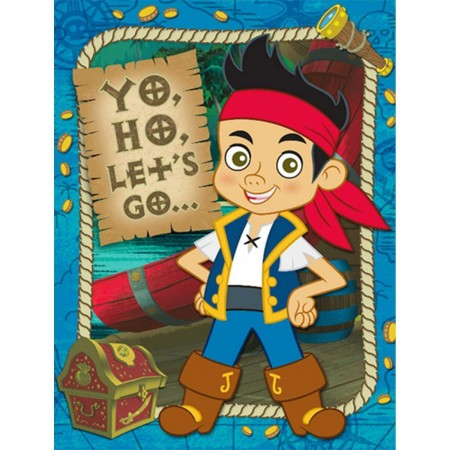 Jake and The Neverland Pirates Invitations (8)