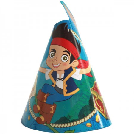 Jake and The Neverland Pirates Party Hats (8)