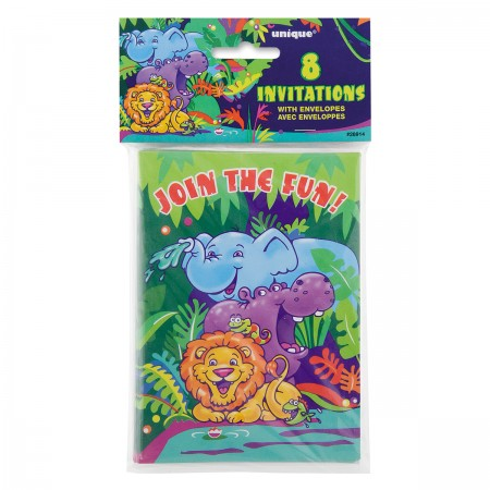 Jungle Safari Invitations (8)