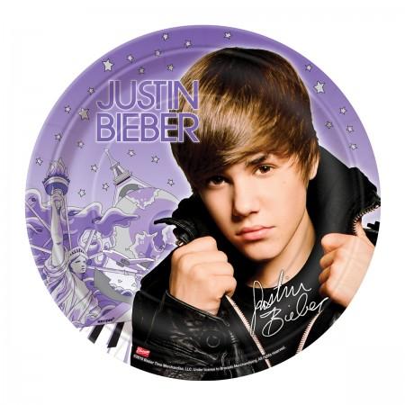 Justin Bieber Lunch Plates (8)
