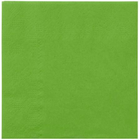 Lime Green Beverage Napkins (20)