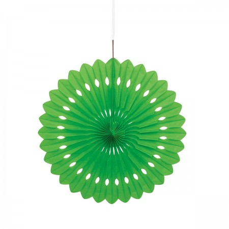 Lime Green Decorative Fan (1)