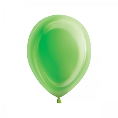 Lime Green Light-Up Balloons (5)