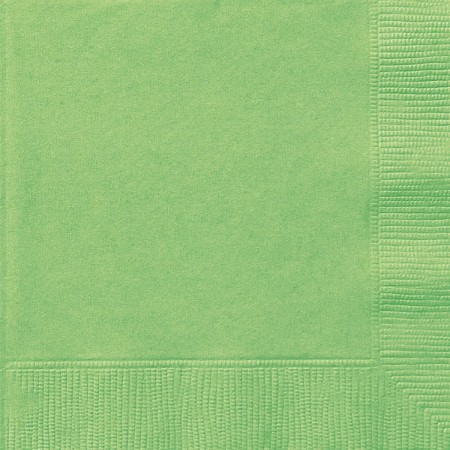 Lime Green Lunch Napkins (20)