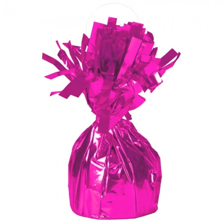 Magenta Foil Balloon Weight (1)