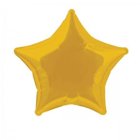 Metallic Golden Star Shaped Foil Balloon (1)
