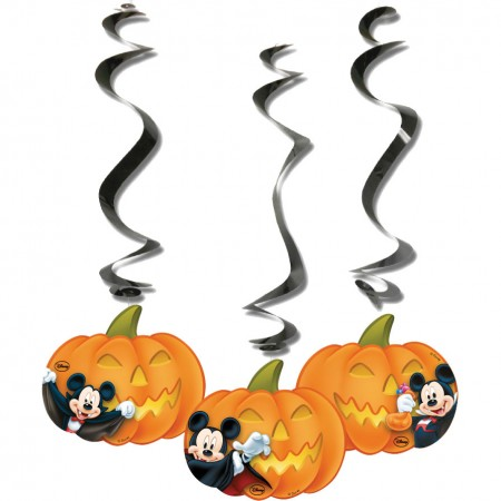 Mickey Halloween Dangling Cut Outs (3)