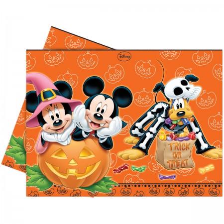 Mickey Halloween Plastic Tablecover (1)