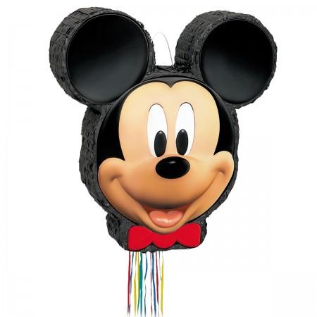 Mickey Mouse Pull-String Pinata (1)
