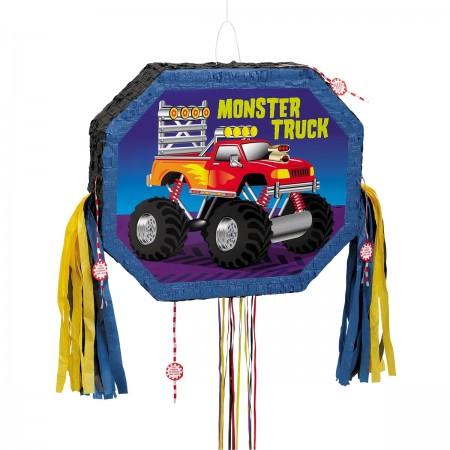 Monster Truck Pull String Pinata (1)