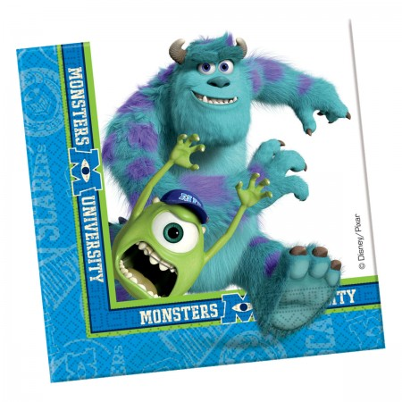 Monsters University Paper Napkins (20)