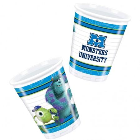 Monsters University Plastic Cups (8)