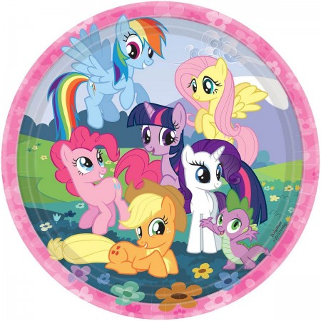 My Little Pony Lunch Plates (8)