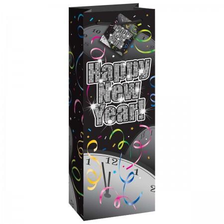 New Year's Burst Glossy Wine Bag (1)