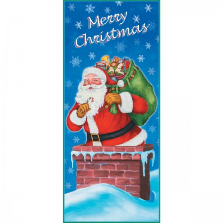 Night Before Christmas Door Poster (1)