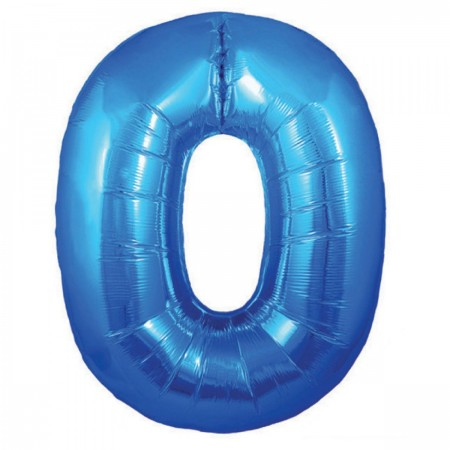 Number 0 Balloon Blue (1)