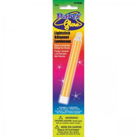 """Orange Glow Lightstick 6"""" (1)"""