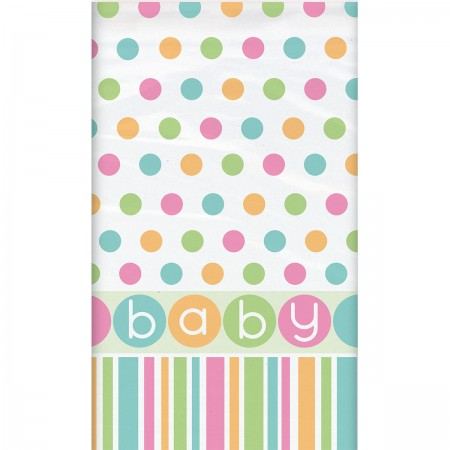 Pastel Baby Shower Tablecover (1)