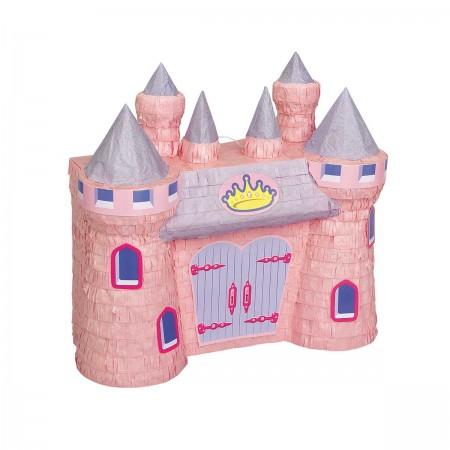 Pink Castle Pinata (1)