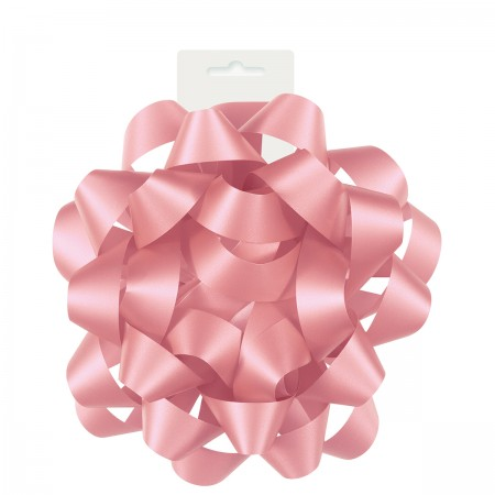 "Pink Gift Bow 6""  (1)"