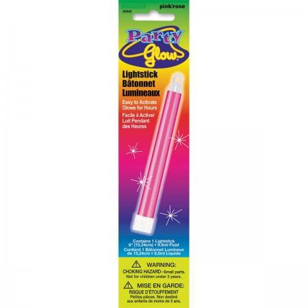 """Pink Glow Lightstick 6"""" (1)"""