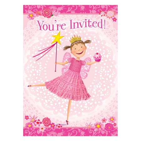 Pinkalicious Invitations (8)