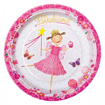 Pinkalicious Lunch Plates (8)