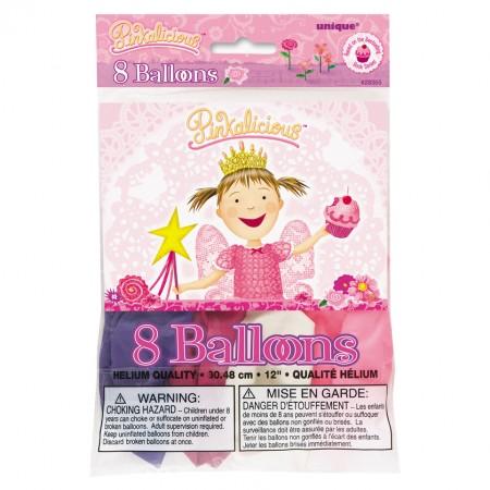 Pinkalicious Printed Latex Balloons (8)