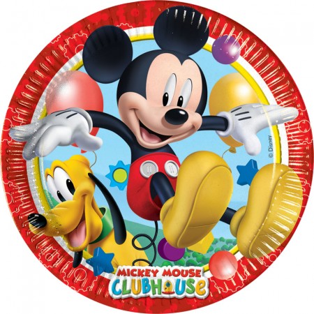 Mickey Mouse Lunch Paper Plates (8)