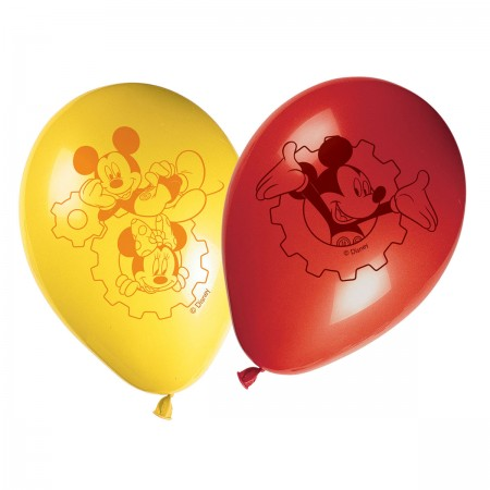 """Mickey Mouse Balloons 11"""" (8)"""
