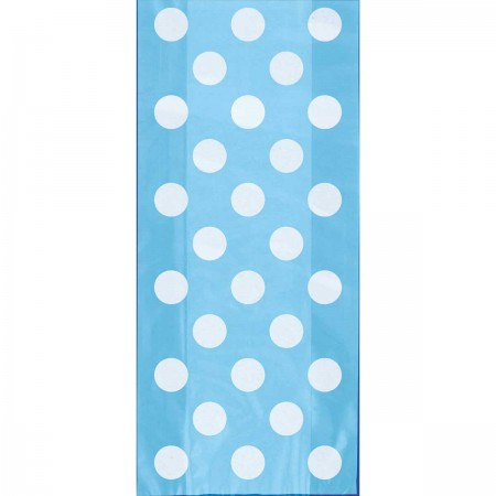 Powder Blue Dots Cello Bag (20)