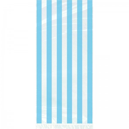 Powder Blue Stripes Cello Bags (20)