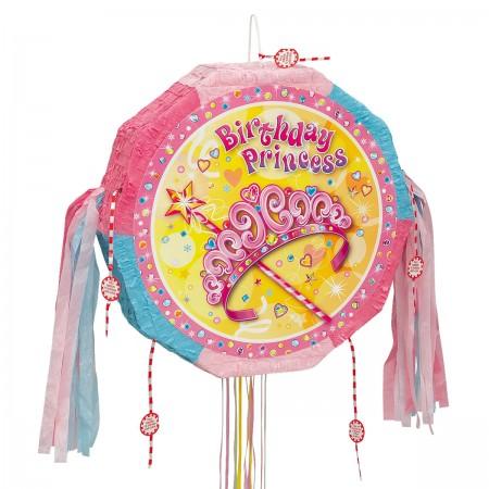 Pretty Princess Drum Popout Pinata (1)
