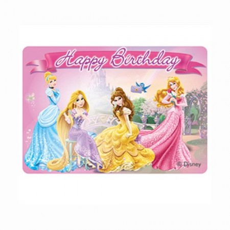 Princess & Animals Happy Birthday Décor Candle (1)