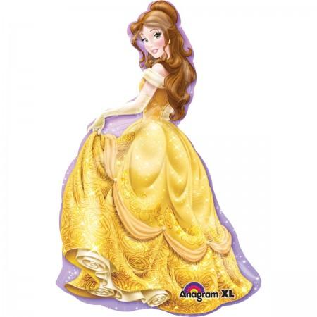 "39"" Princess Belle Shape Foil Balloon (1)"