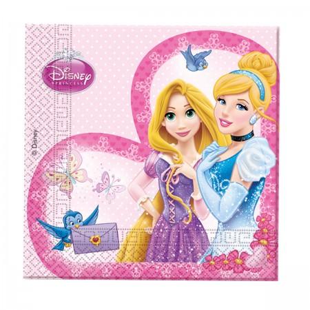 Princess Glamour Paper Napkins (20)