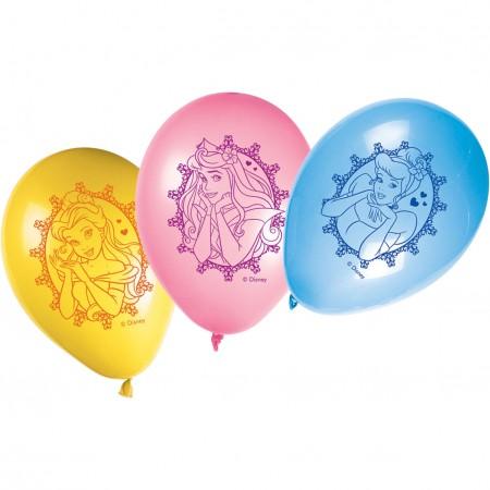"Princess Glamour Balloons 11"" (8)"