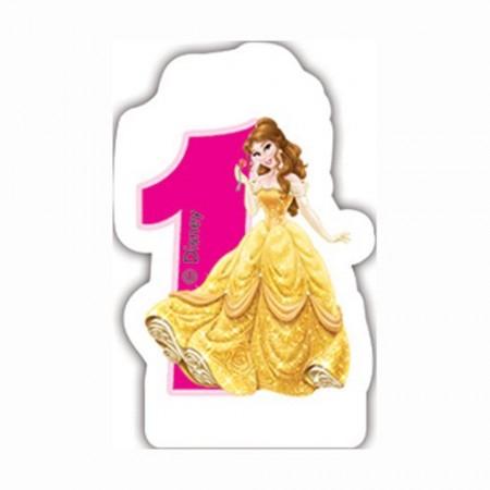 Disney Princess Birthday Number 1Candle (1)