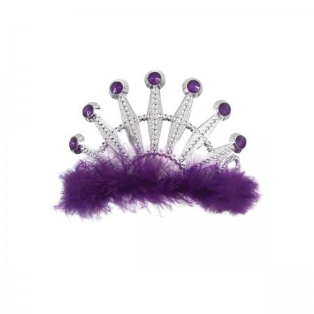 Purple Bling Tiara (1)
