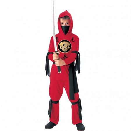 Red Ninja Costume (1)