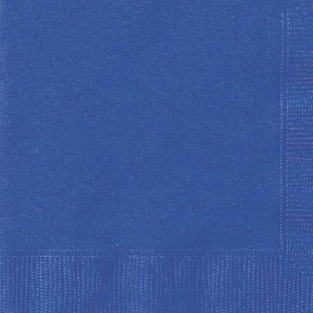 Royal Blue Beverage Napkins (20)