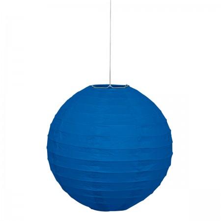 Royal Blue Hanging Paper Lanterns (1)