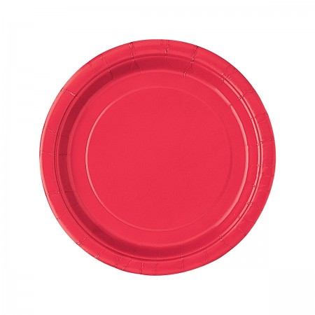 Ruby Red Dessert Plates (20)