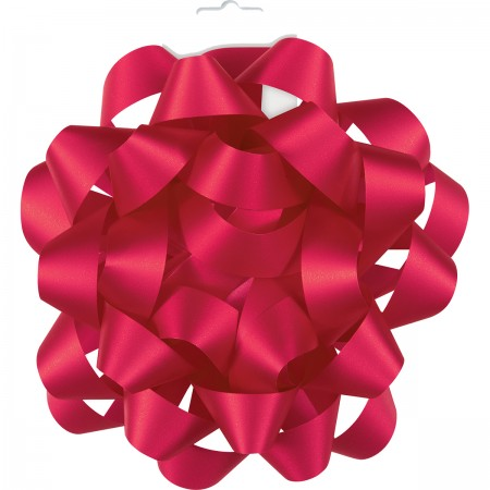 "Ruby Red 6"" Gift Bow (1)"